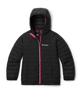 Chaqueta Columbia Powder Lite Hooded Niñas Black. Oferta y Comprar online