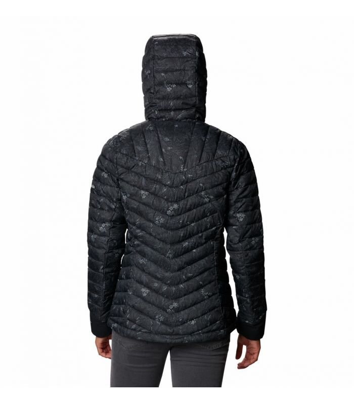 Compra online Chaqueta Columbia Windgates Hooded JKT Mujer Black en oferta al mejor precio