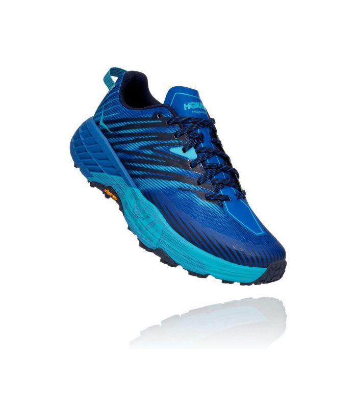 Compra online Zapatillas Hoka Speedgoat 4 Hombre Blue en oferta al mejor precio