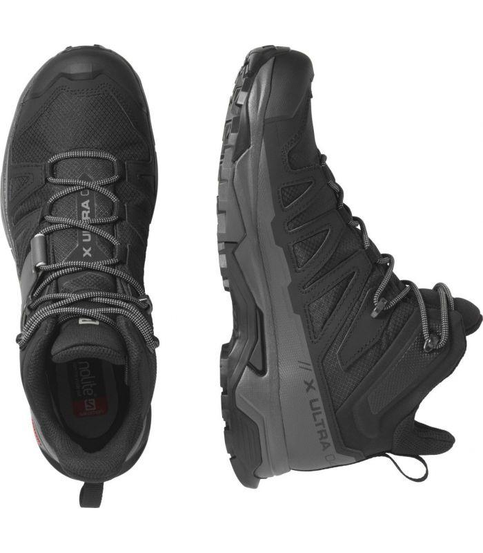 Compra online Botas Salomon X Ultra 4 MID GTX Hombre Black en oferta al mejor precio