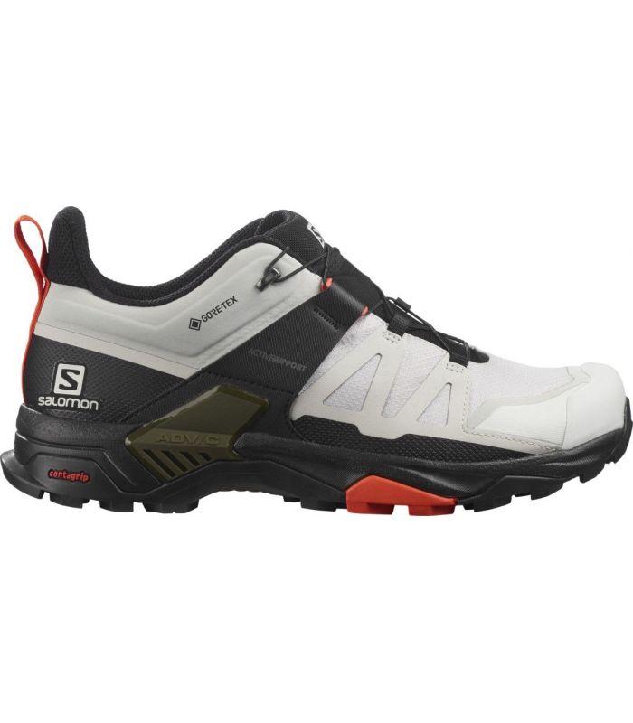 Compra online Zapatillas Salomon X Ultra 4 GTX Hombre Lunar Roc en oferta al mejor precio