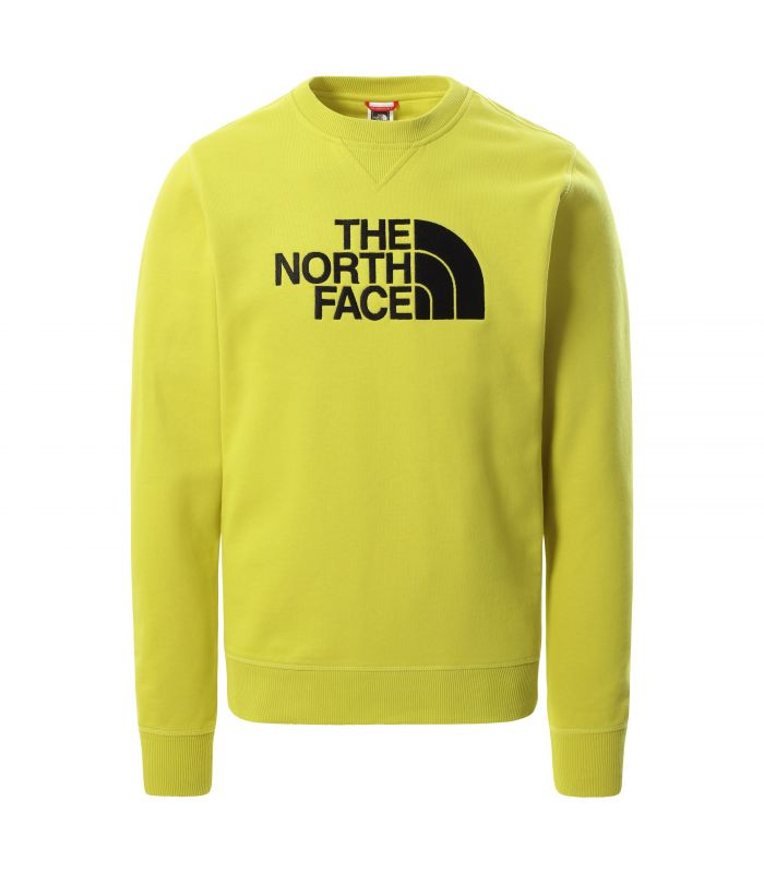 Compra online Sudadera The North Face Drew Peak Crew Hombre Citronelle en oferta al mejor precio