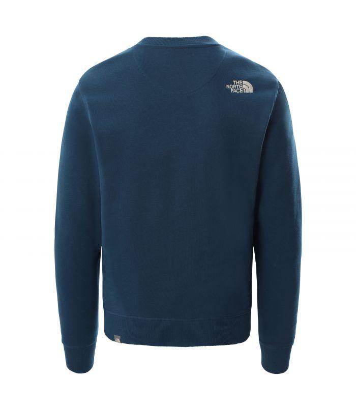 Compra online Sudadera The North Face Drew Peak Crew Hombre Monterey Blue en oferta al mejor precio