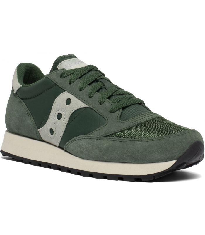 Compra online Zapatillas Saucony Jazz Original Vintage Hombre Green Green en oferta al mejor precio