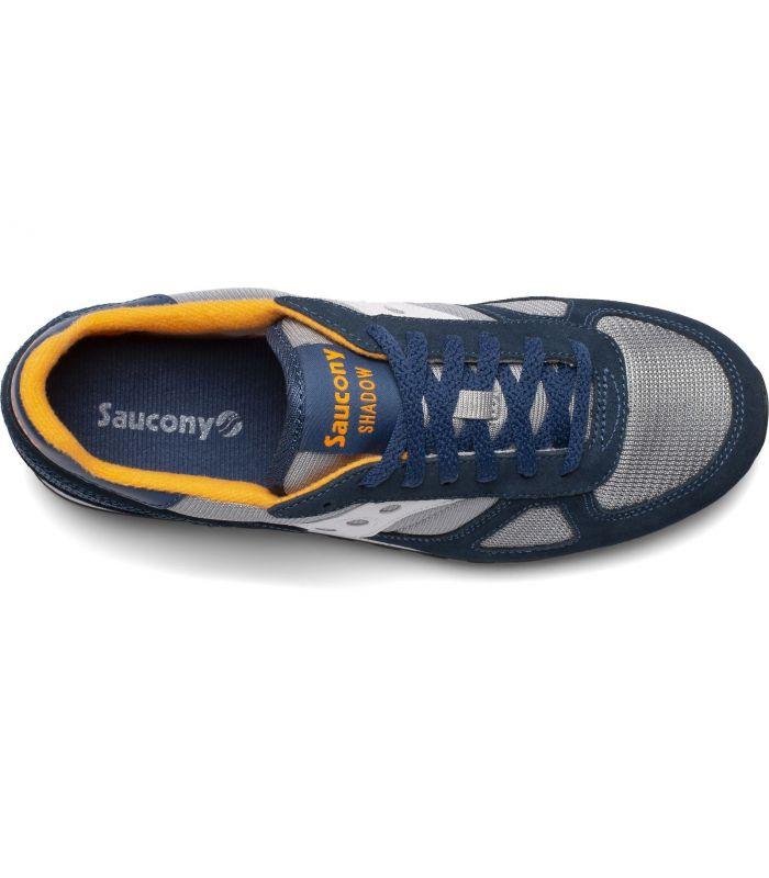 Compra online Zapatillas Saucony Shadow Original Vintage Hombre Blue Grey en oferta al mejor precio