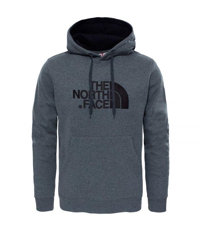 Compra online Sudadera The North Face Drew Peak Hombre Gris Negro en oferta al mejor precio