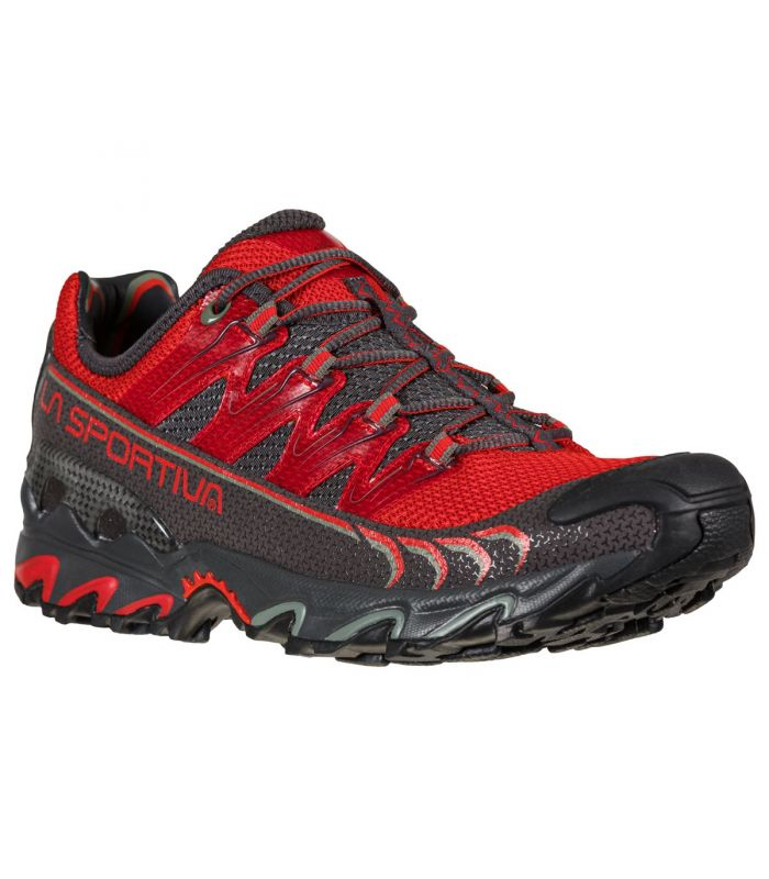 Compra online Zapatillas La Sportiva Ultra Raptor Hombre Goji Carbon en oferta al mejor precio