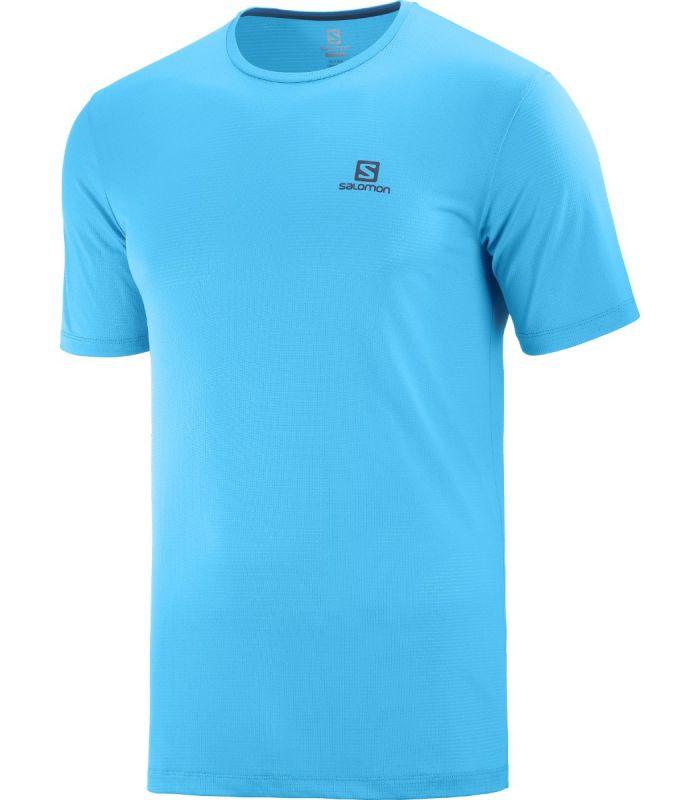 Compra online Camiseta Salomon MC Agile Training Tee Hombre Hawaiia en oferta al mejor precio