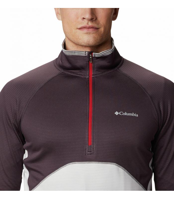 Compra online Camiseta Columbia Mt. Powder Hombre Dark Purple en oferta al mejor precio