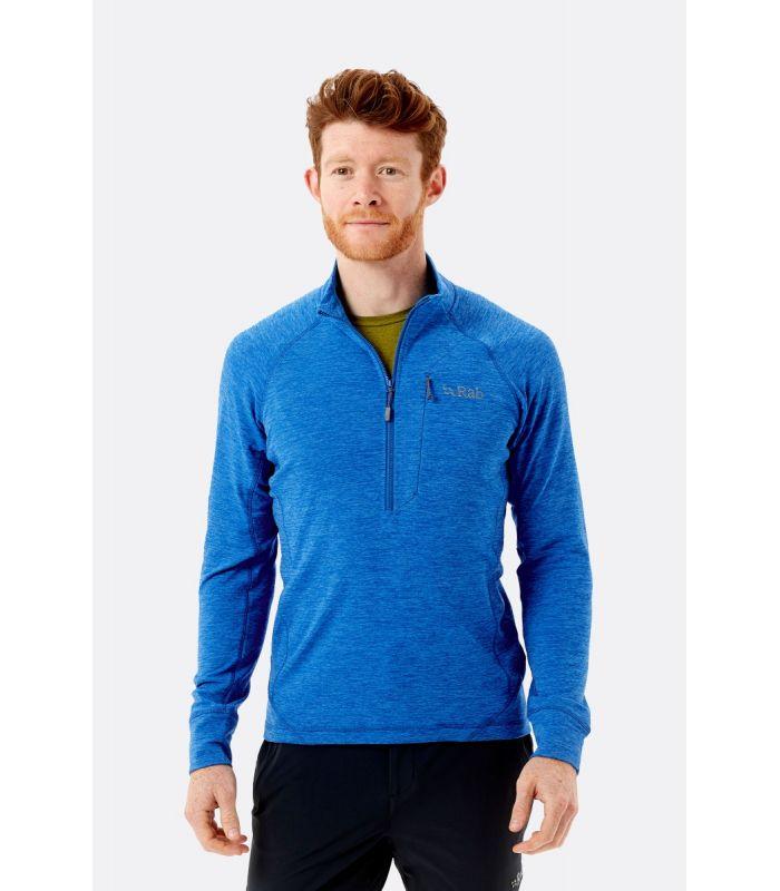 Compra online Camiseta Rab Nexus Pull On Polar Hombre Azul en oferta al mejor precio