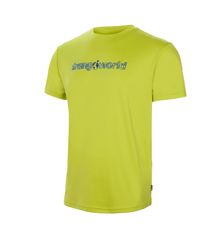 Compra online Camiseta Trangoworld Yesera VT Hombre Lime Green en oferta al mejor precio