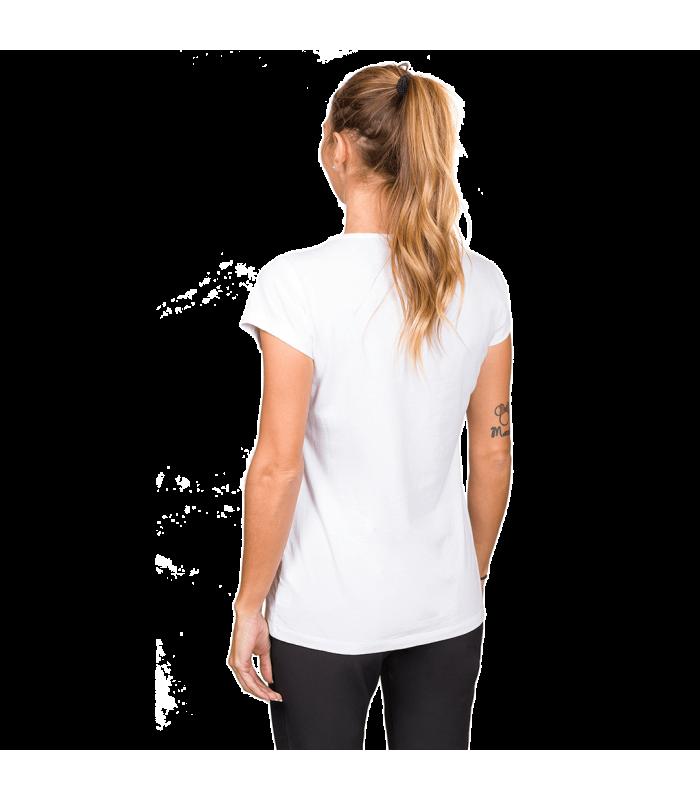 Compra online Camiseta TrangoWorld Watercolour WM Mujer Bright White en oferta al mejor precio