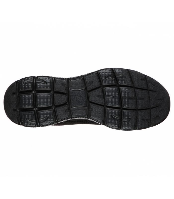 Compra online Zapatillas Skechers Summits Brisbane Hombre Negro en oferta al mejor precio