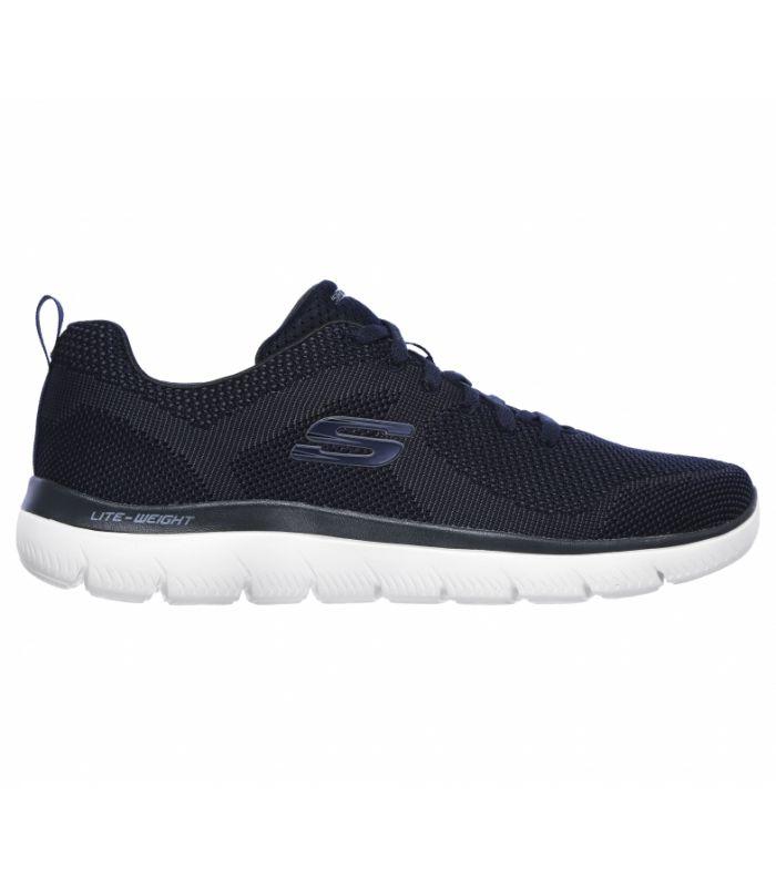 Compra online Zapatillas Skechers Summits Brisbane Hombre Navy en oferta al mejor precio