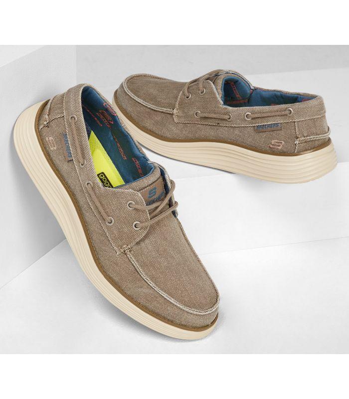 Compra online Zapatillas Skechers Status 2.0 Hombre Taupe en oferta al mejor precio