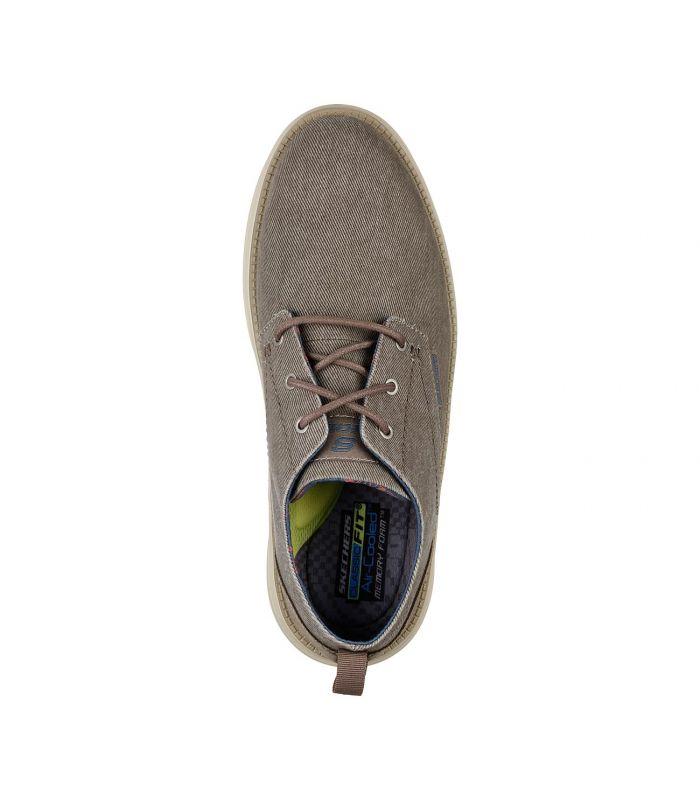 Compra online Zapatillas Skechers Status 2.0 Pexton Hombre Taupe en oferta al mejor precio