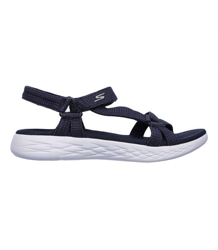 Compra online Sandalias Skechers On The Go 600 Brilliancy Mujer Navy en oferta al mejor precio