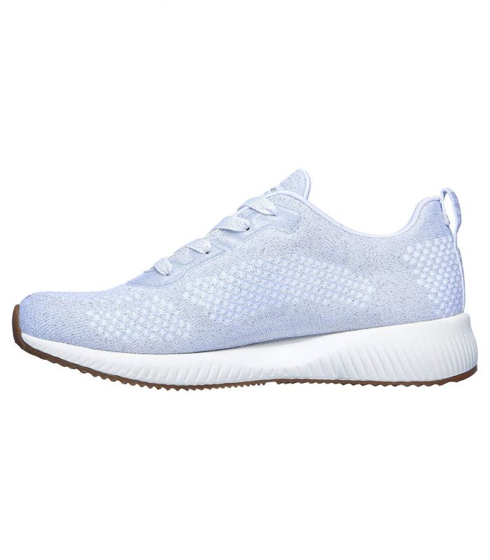 Compra online Zapatillas Skechers Bobs Sport Squad Glitz Maker Mujer White en oferta al mejor precio