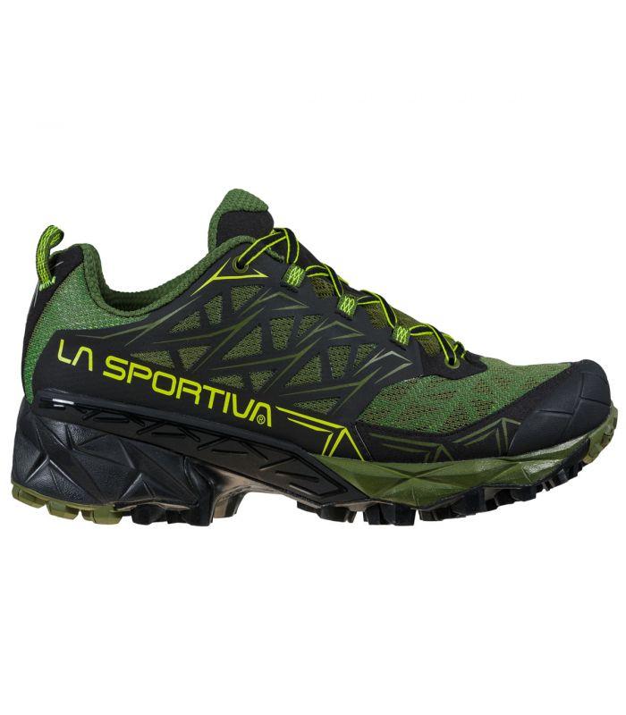 Compra online Zapatillas La Sportiva Akyra Hombre Olive Neon en oferta al mejor precio