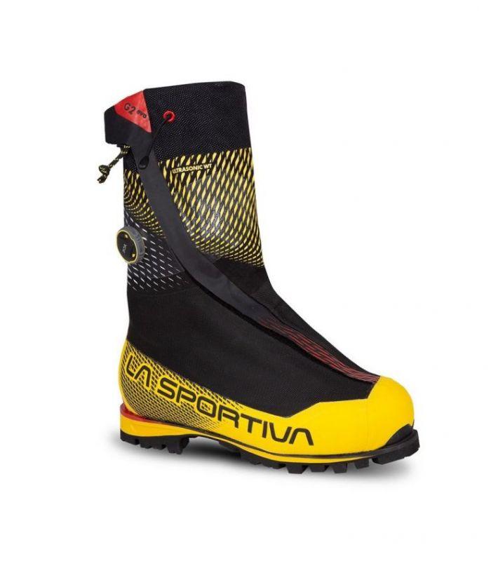Compra online BOTAS La Sportiva G2 Evo Black-Yellow Unisex en oferta al mejor precio