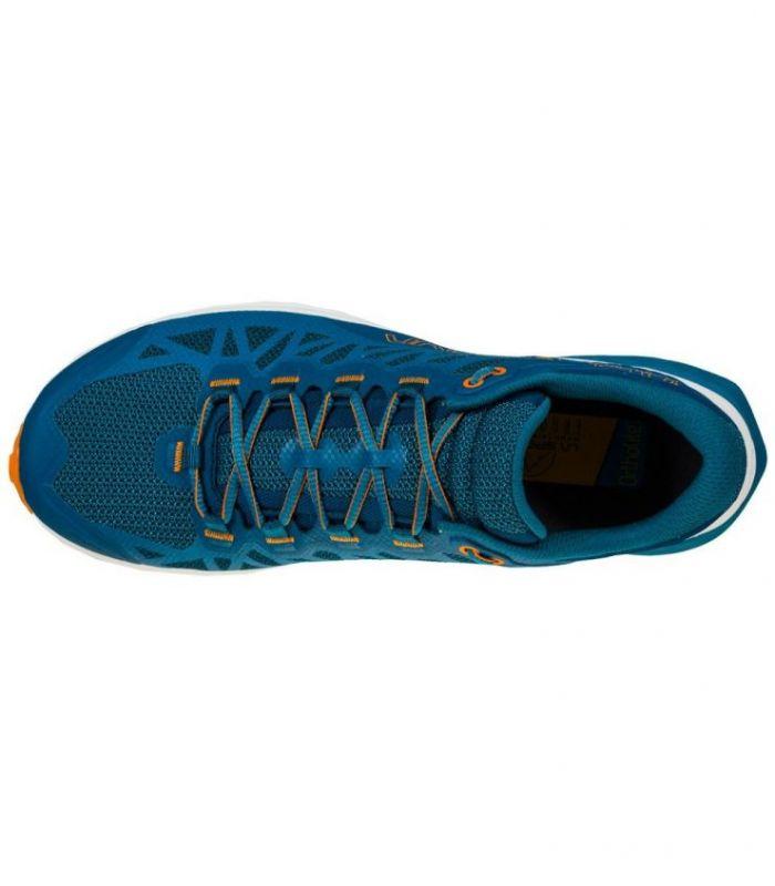 Compra online ZAPATILLAS La Sportiva Karacal Space Blue-Maple Hombre en oferta al mejor precio