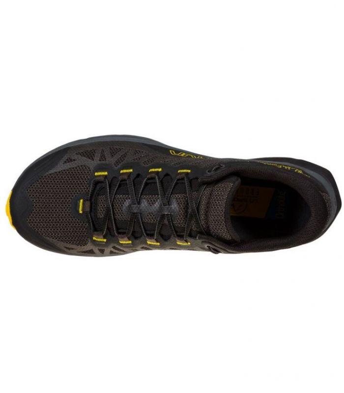 Compra online ZAPATILLAS La Sportiva Karacal Black-Yellow Hombre en oferta al mejor precio