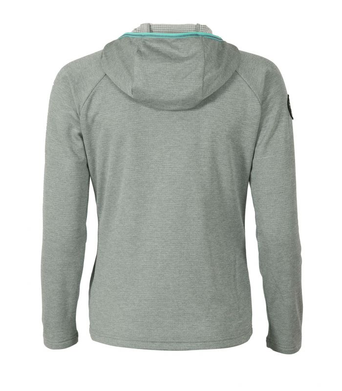 Compra online Sudadera Ternua Balabac Hoody Mujer Ghost Grey en oferta al mejor precio