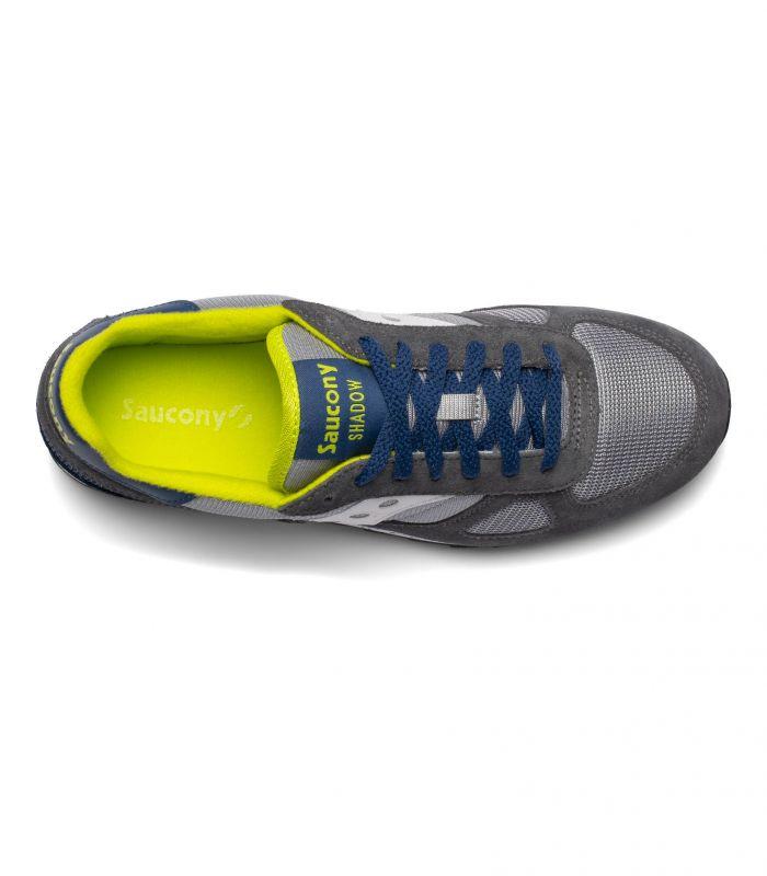 Compra online Zapatillas Saucony Shadow Original Vintage Hombre Grey Blue Yel en oferta al mejor precio