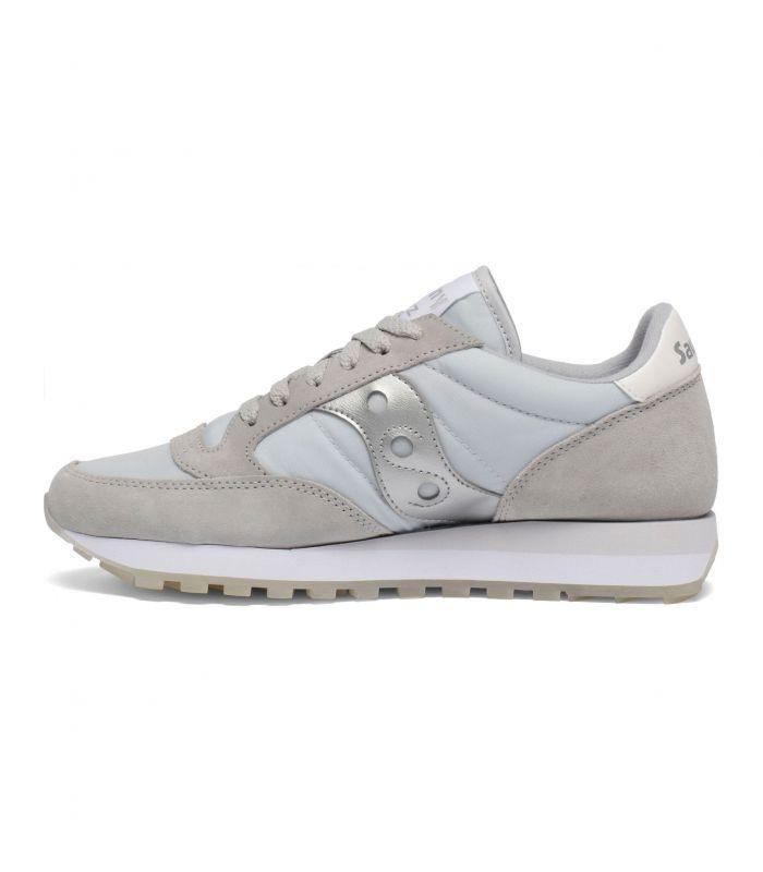 Compra online Zapatillas Saucony Jazz Original Mujer Grey Silver en oferta al mejor precio