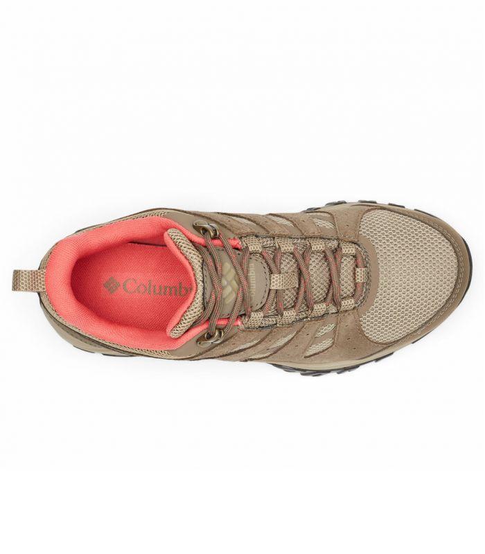 Compra online Zapatillas Columbia Redmond III Wp Mujer Pebble Red Coral en oferta al mejor precio