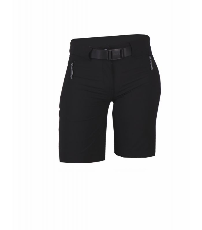 Compra online Pantalones cortos New Wood Larrun Mujer Negro en oferta al mejor precio