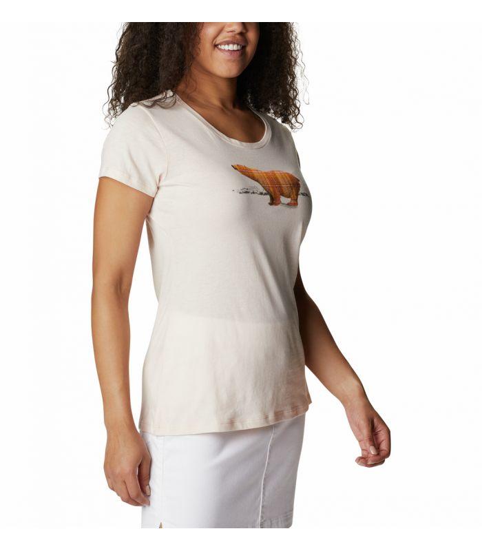 Compra online Camiseta Columbia Daisy Days SS Graphic Tee Mujer Blanco en oferta al mejor precio