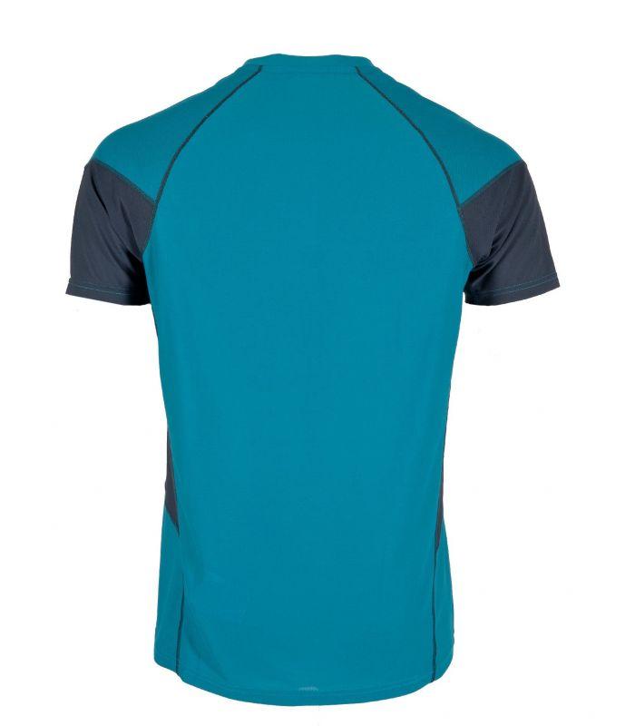 Compra online Camiseta Ternua Tipas Hombre Deep Curacao en oferta al mejor precio