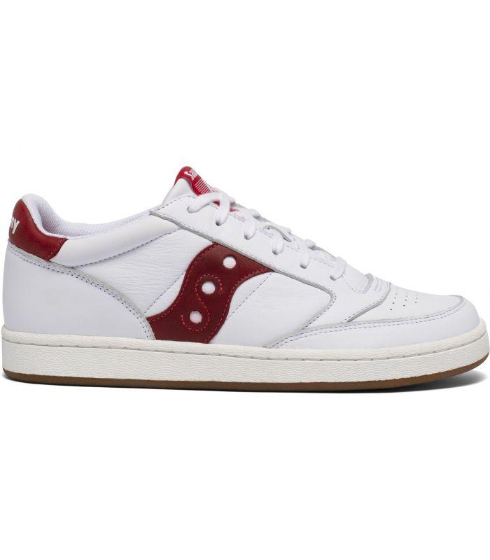 Compra online Zapatillas Saucony Jazz Court Hombre White Red en oferta al mejor precio
