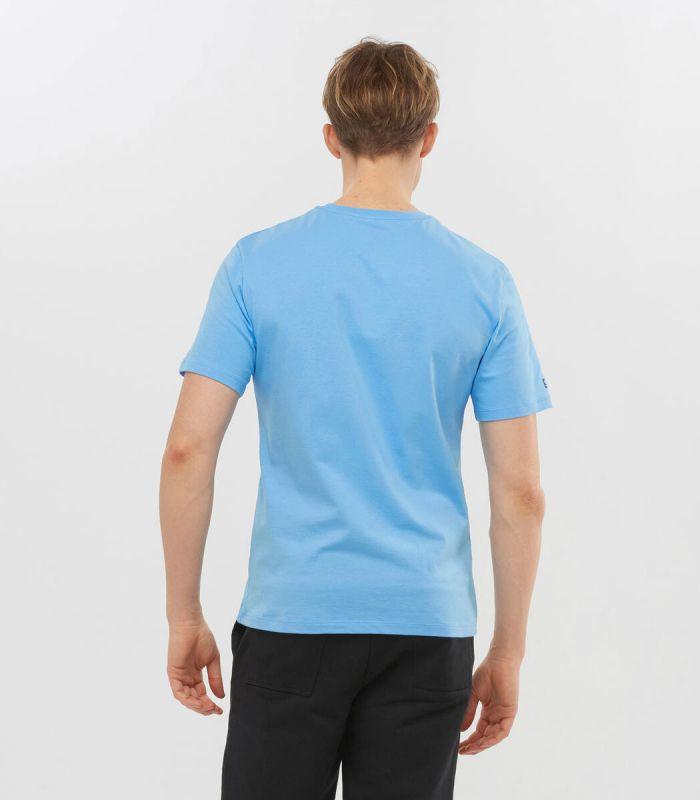 Compra online Camiseta Salomon Mc Outlife Logo SS Hombre Little en oferta al mejor precio