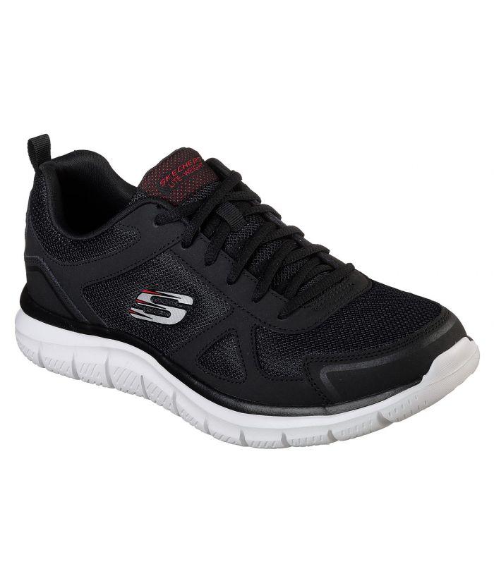 Compra online Zapatillas Skechers Track Hombre Black Red en oferta al mejor precio