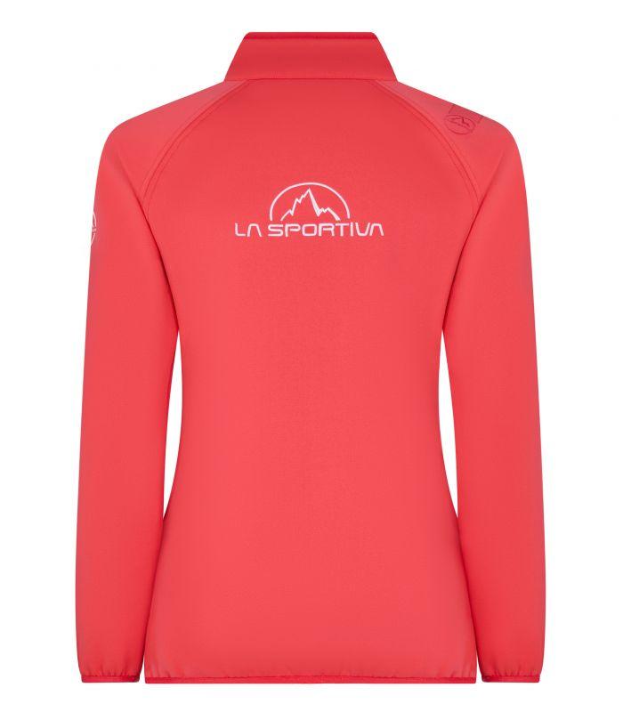 Compra online Chaqueta La Sportiva Promo Fleece Mujer Hibiscus en oferta al mejor precio