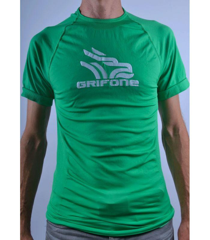 Compra online Camiseta térmica manga corta Grifone Tacket Hombre en oferta al mejor precio