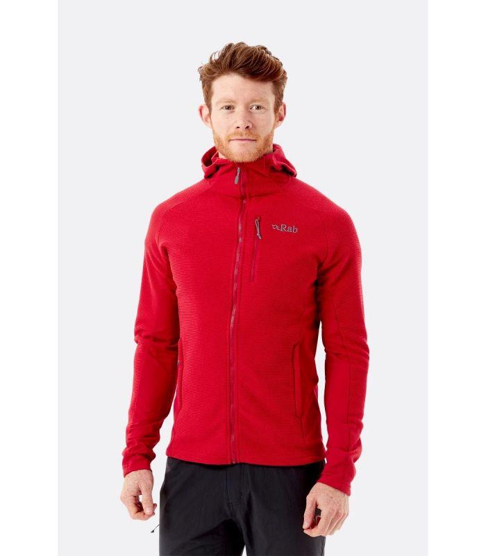 Compra online Chaqueta Rab Capacitor Hoody Hombre Red en oferta al mejor precio
