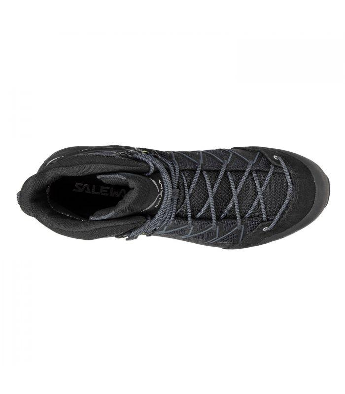 Compra online Botas Salewa MS MTN Trainer Lite Mid GTX Hombre Black en oferta al mejor precio