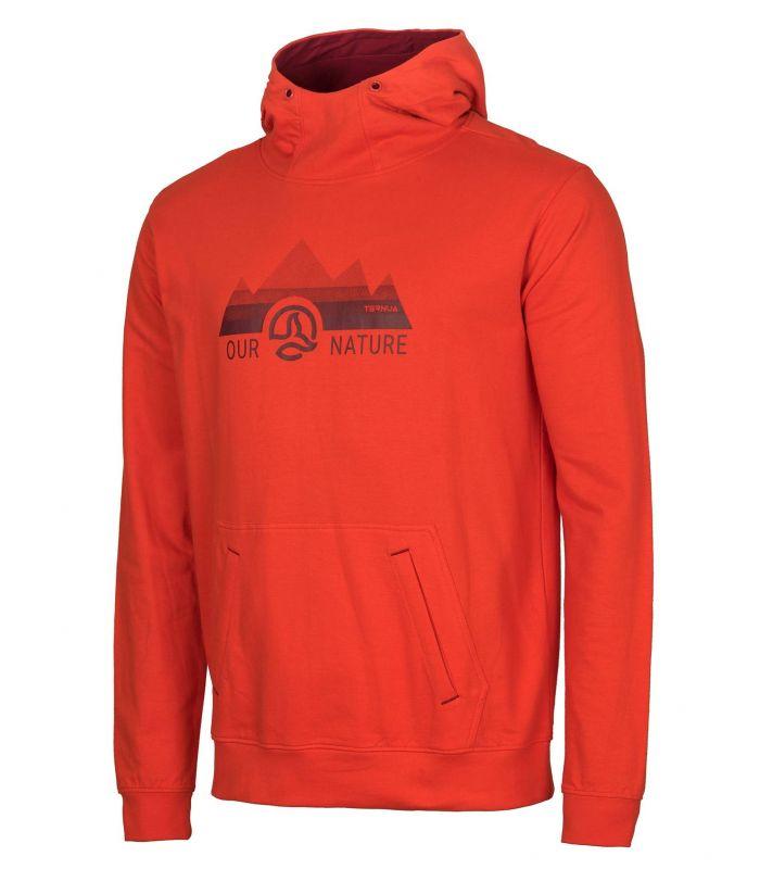 Compra online Sudadera Ternua Veldar Hombre Orange Red en oferta al mejor precio