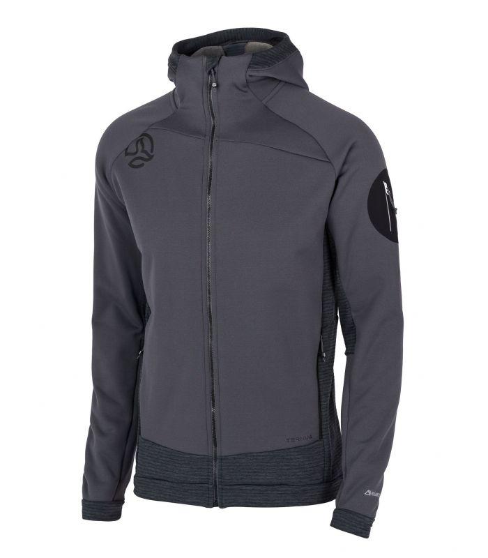 Compra online Chaqueta Ternua Punjar Hood JKT Hombre Whales Grey en oferta al mejor precio