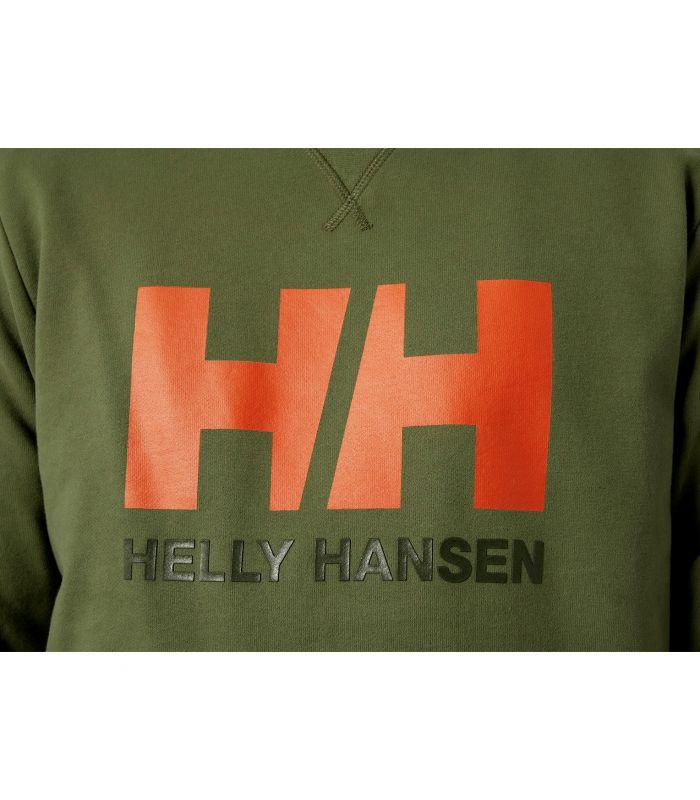 Compra online Sudadera Helly Hansen HH Logo Crew Hombre Terrai en oferta al mejor precio