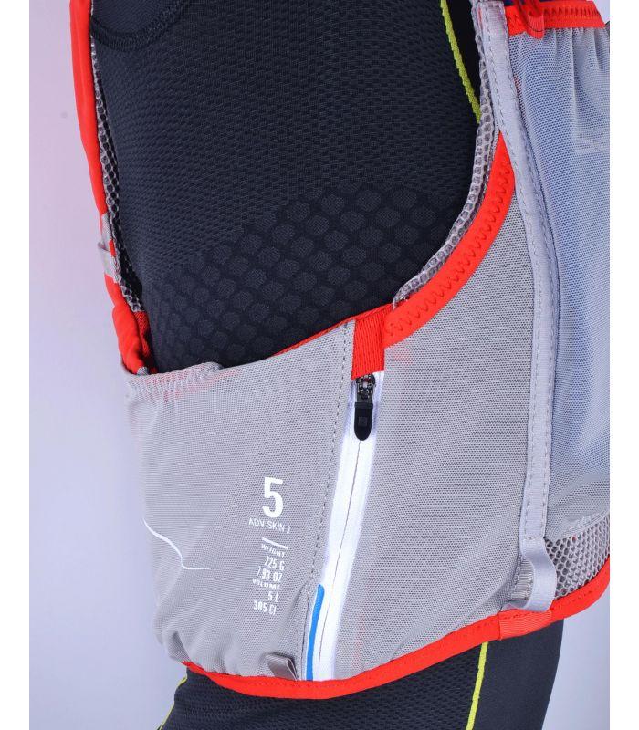 Compra online Mochila trail running Salomon S-Lab Advanced Skin 3 5 Set ROJA en oferta al mejor precio