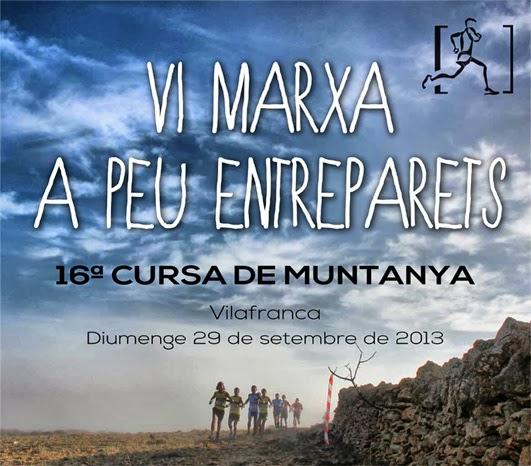 La Entreparets 'corona' este domingo el maratón de carreras de montaña verano 2013 en Castellón