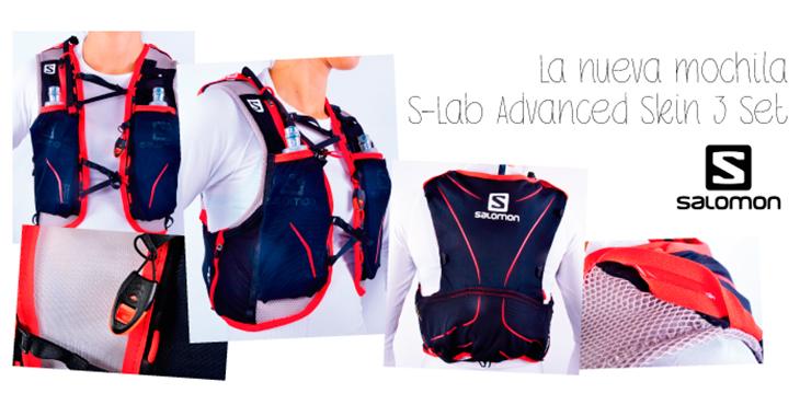 La nueva mochila S-Lab Advanced Skin 3 Set de Salomon