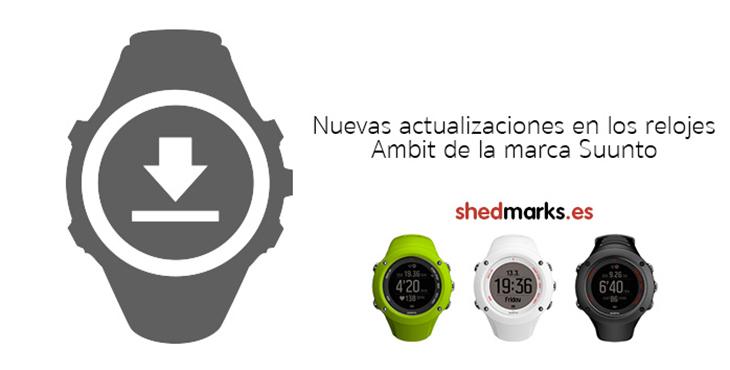 Nueva actualización para los relojes Suunto AMBIT