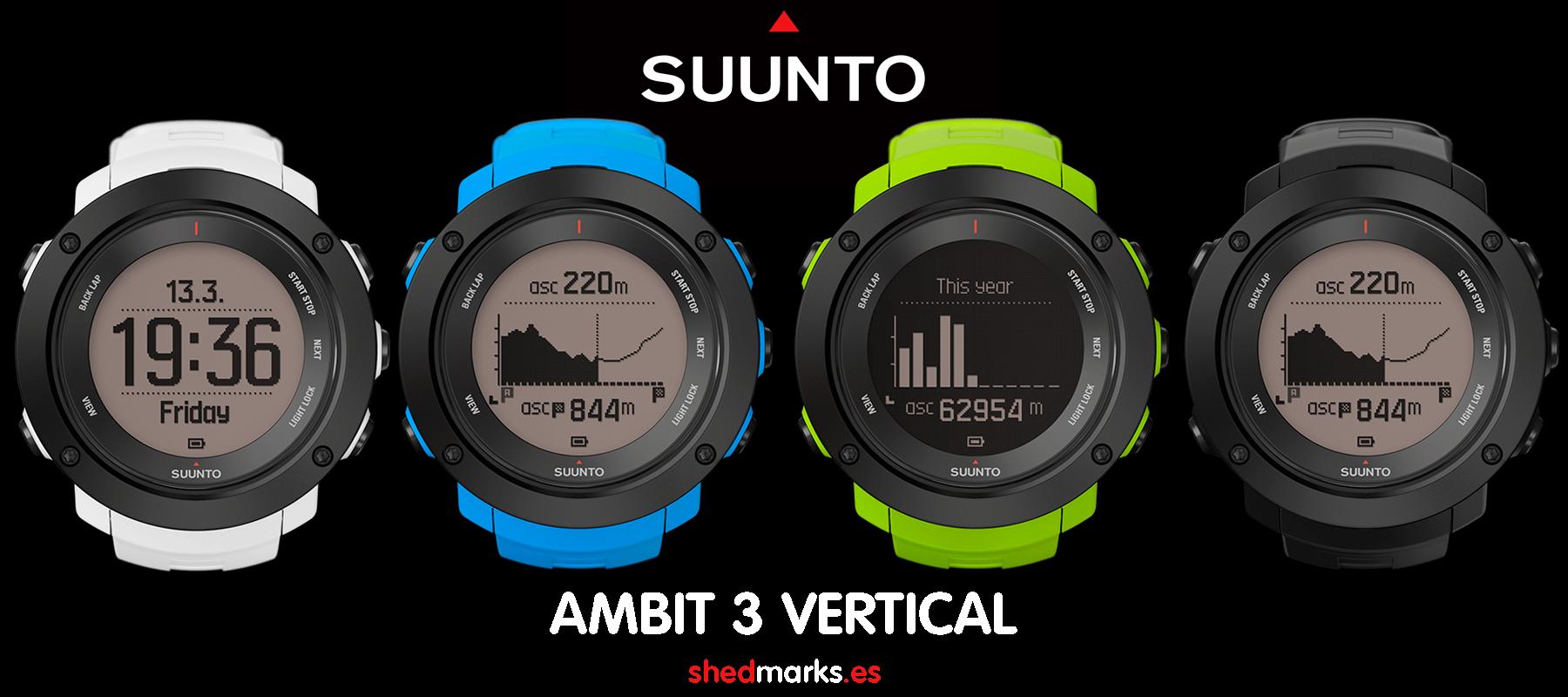 Nuevo Reloj Suunto Ambit3 Vertical