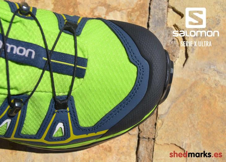 Puntera reforzada zapatillas de trekking Salomon X Ultra 2 Gtx