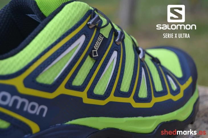 Tipo de membrana: zapatillas trekking Salomon X Ultra 2 GTX